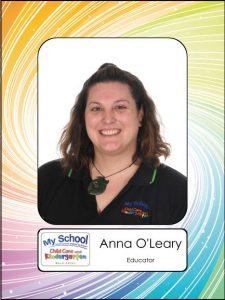 Anna O'Leary
